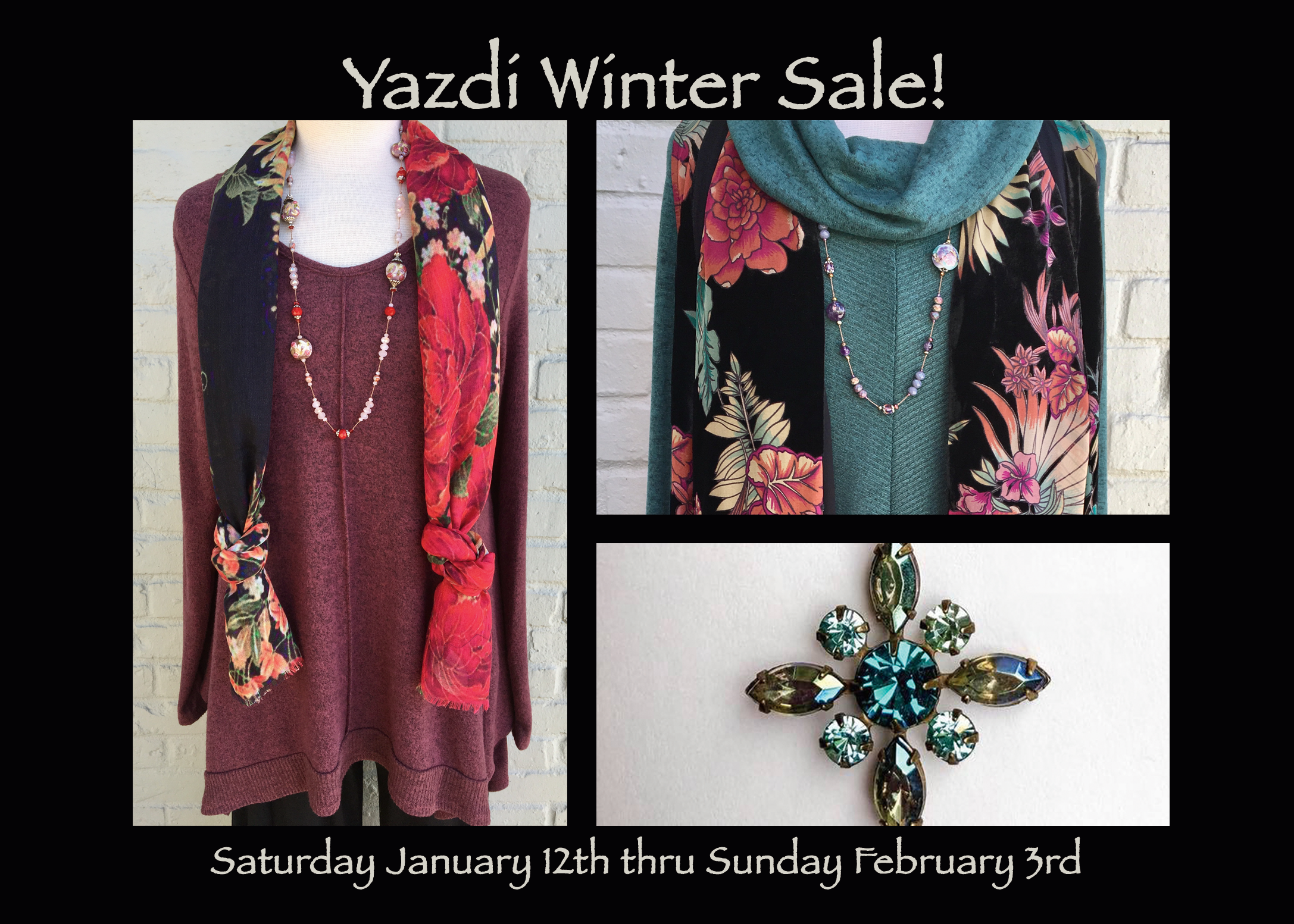 Our Annual Winter Sale starts this Saturday!