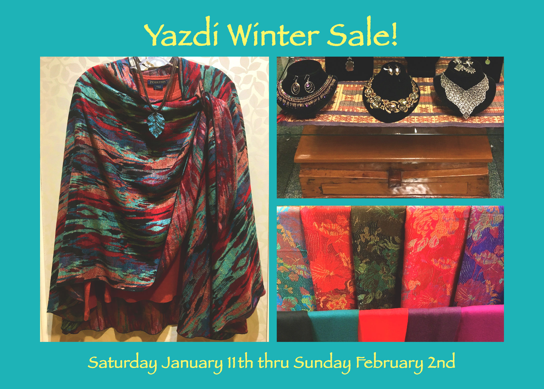It's Our Annual Winter Sale! Jan 11 – Feb 2