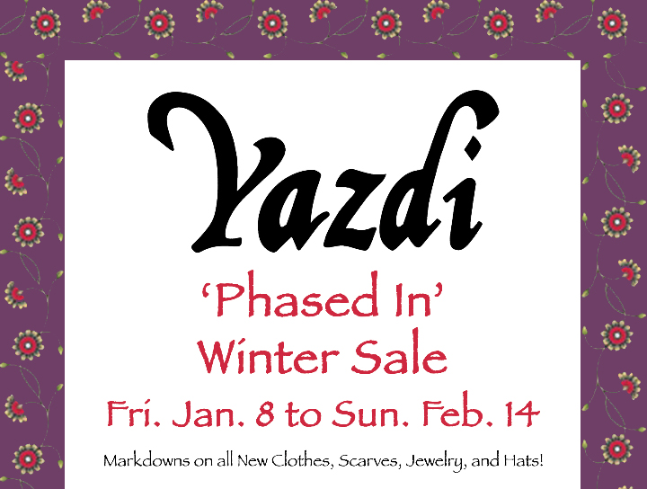 Our Annual Winter Sale starts this Friday!
